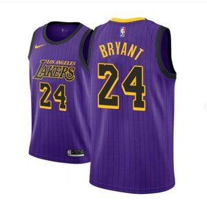 Women Los Angeles Lakers Kobe Bryant Jersey Purple